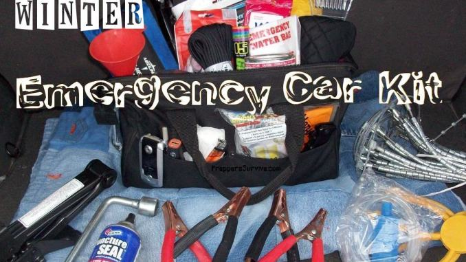 Winter Emergency Car Kit Checklist Preppers Survive