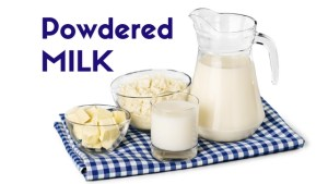 Powdered Milk Uses - Recipes Using Powdered Milk - Food Storage Starter Kit