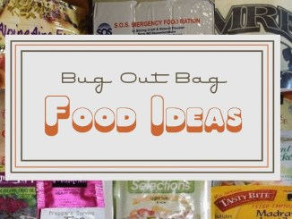 Bug Out Bag Food Ideas