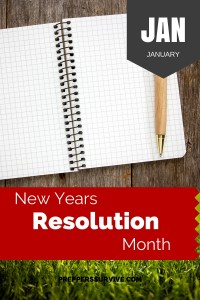 January Resolution - Prepper Calender - Basic Prepper List