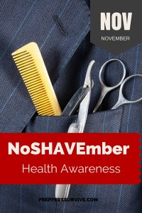 NoShavember - November Prepper Calender