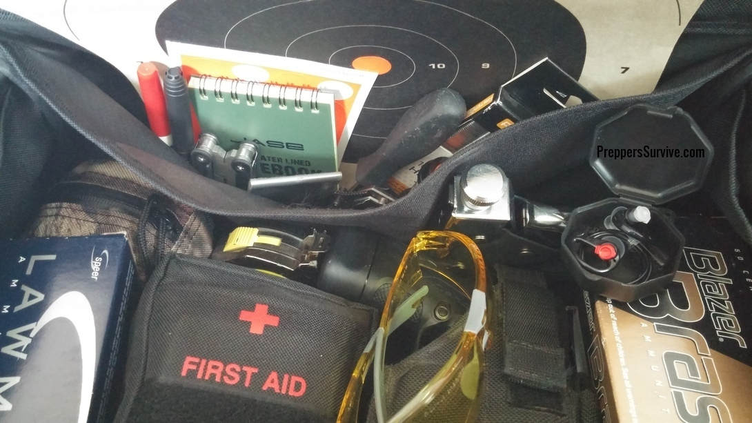 Firearm Kit Checklist and Range Bag Contents