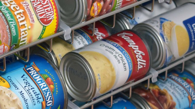 Storing Canned Food