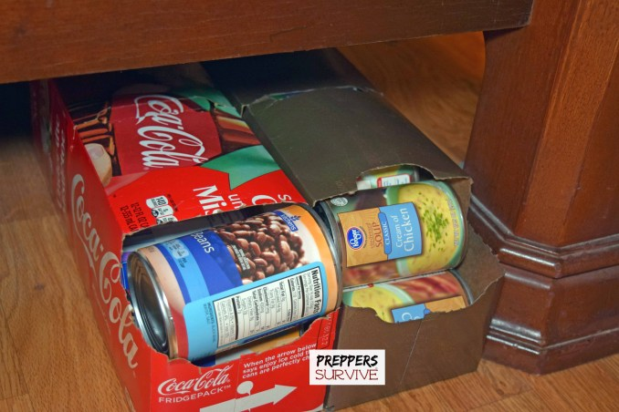 Storing Canned Food - 4 Canned Food Rotation Ideas