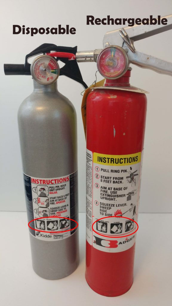 steps to use a fire extinguisher