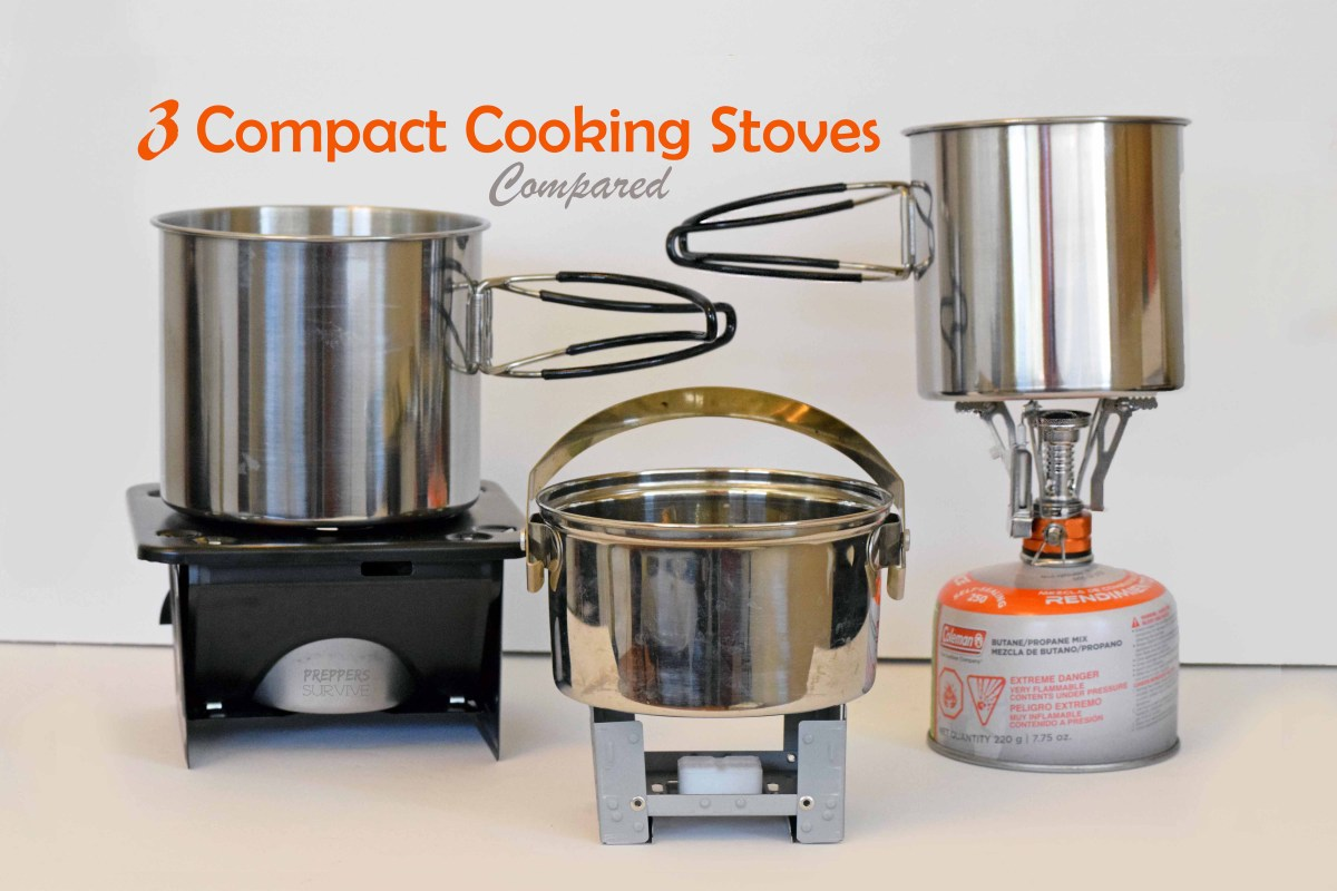 3 Backpacking Stoves Compared -------- Under $16
