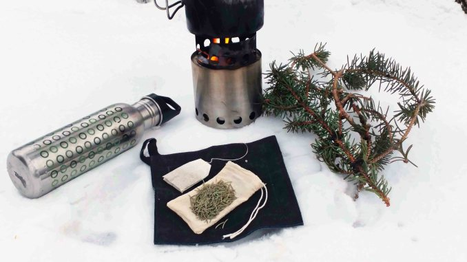 Thrive and Not Just Survive - Reuseable Tea Bag - Wild Tea - Preppers Survive