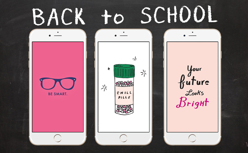 Girly Quotes Wallpapers For Mobile Back To School With 28 Super Cute Iphone Wallpapers