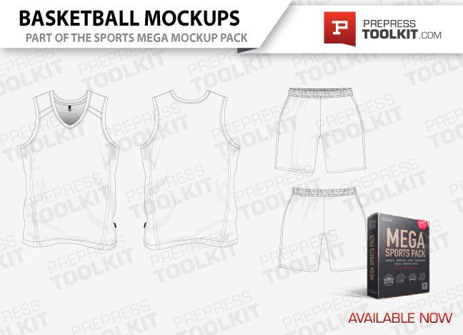 Vector Mockup Template - Mega Sports Pack