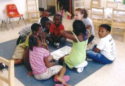 Students participate in Freedom School program at C N Jenkins Memorial Presbyterian Church in Charlotte, N.C.—Photo courtesy Freedom Schools Partners