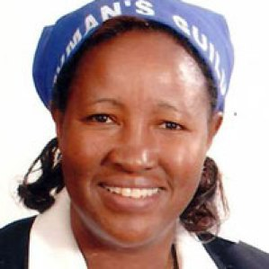 Veronica Muchiri, organizer and secretary of the Presbyterian Church of East Africa National Woman's Guild
