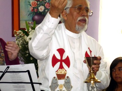Edgar Moros-Ruano, a former Presbyterian mission co-worker, serves as pastor of the Congregation of the Resurrection and a tenured professor of philosophy at Universidad de Los Andes (ULA) in Merida, Venezuela. (Photo by Juan Sarmiento)
