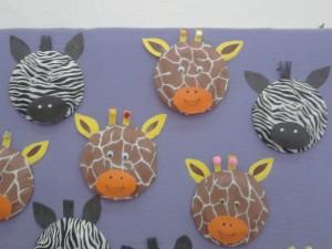 Giraffe Paper Plate ... & Giraffe Paper Plate Craft - Castrophotos