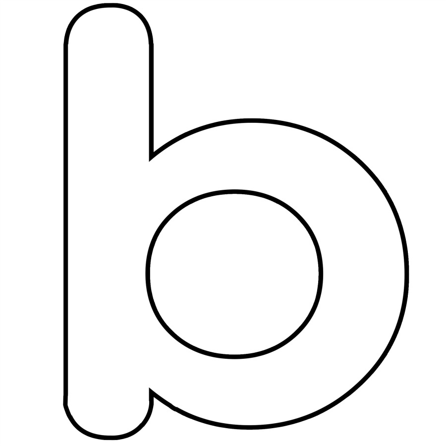 B printable coloring pages - Letter N Coloring Pages Art4search