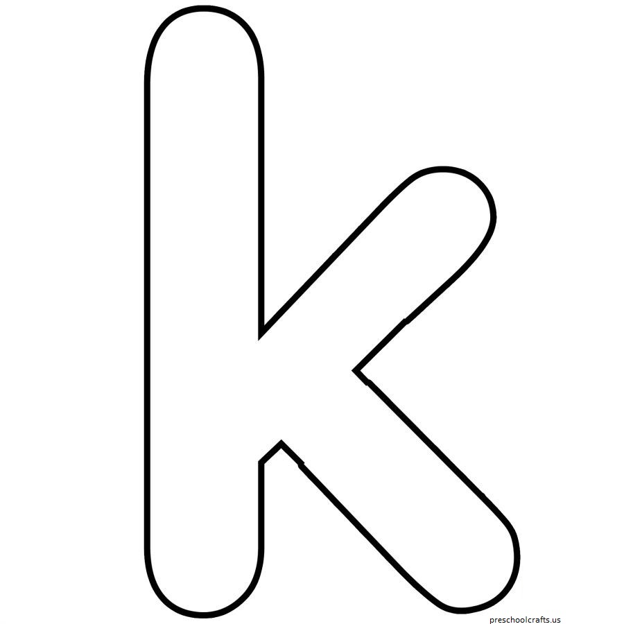 Free Coloring Pages Letter K