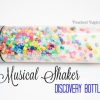 Musical Shaker Discovery Bottle with Beads