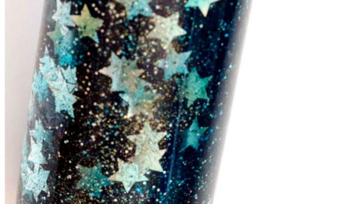 Make a calm down bottle to help children relax and self-regulate. This galaxy calm down bottle is mesmerizing and an easy three ingredient sensory bottle.