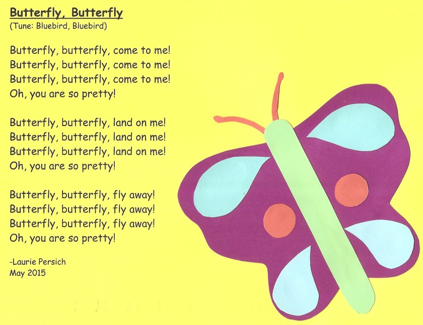 Butterfly Song For Preschoolers Storytime Theme Beautiful