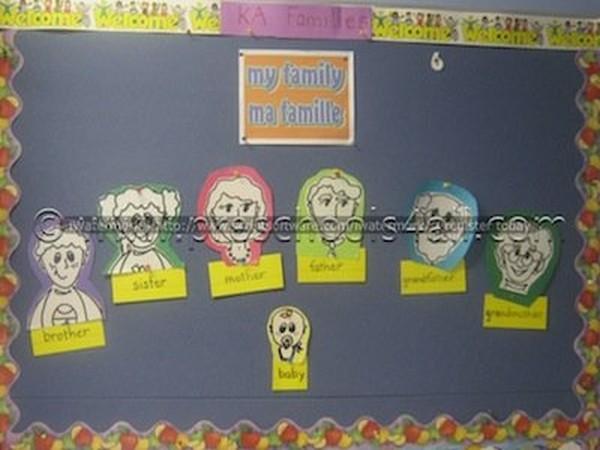 Preschool Theme Ideas - My Family Preschool Lesson Plans