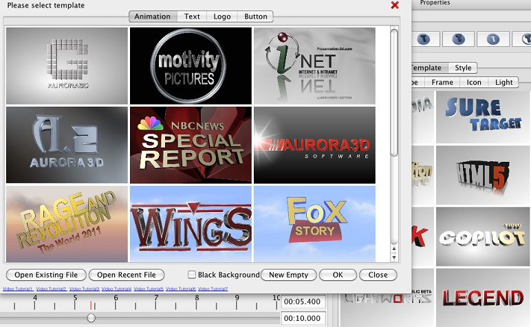 3D Movie Title Creator Logo Animation Maker Features  Functions