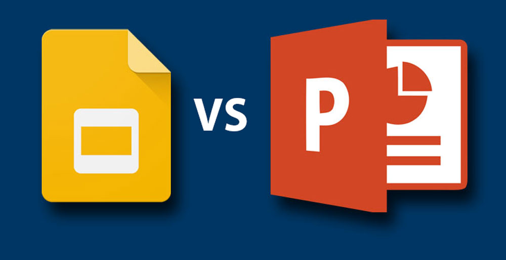 Google Slides versus Powerpoint Presentation Guru - google slides themes to import