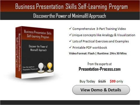Business Presentation Skills Program  Self-Learning Video - presentation experts