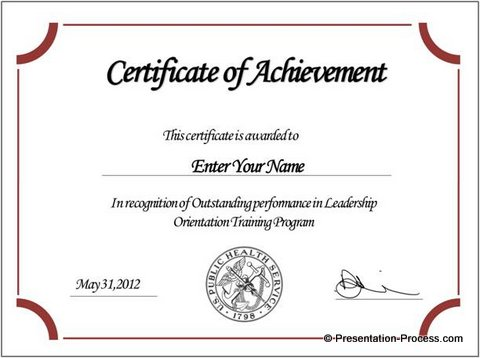 online certificates templates - Eczasolinf - Certification Document Template