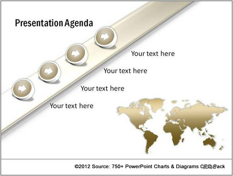 5 Ways To End Your Presentation Without Boring Your Audience - power point agenda slide
