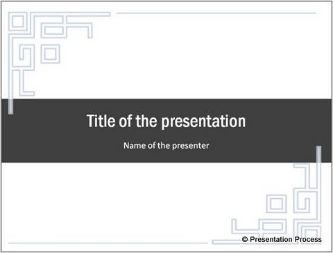 Ideas for Borders in PowerPoint