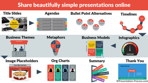 750+ Flat Design Templates for PowerPoint Prelaunch