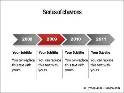 5 Creative PowerPoint Timeline Ideas - career timeline template
