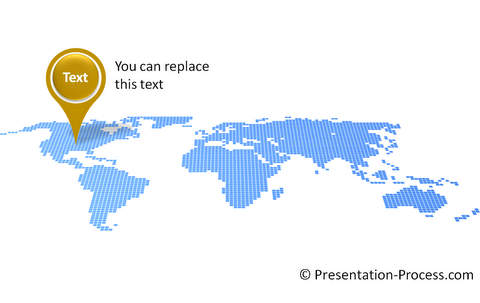 Map Pin in PowerPoint