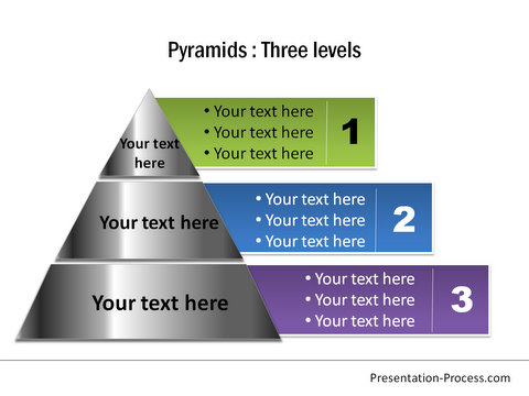 Pyramid Diagram PowerPoint Shapes