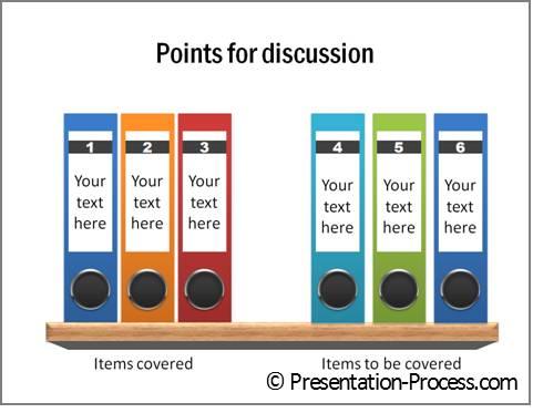 Creative PowerPoint Agenda Ideas  Folder - how to create a agenda