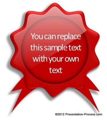 Create stunning PowerPoint Badge easily