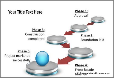 How To Draw 3D PowerPoint Circle - 3d powerpoint template