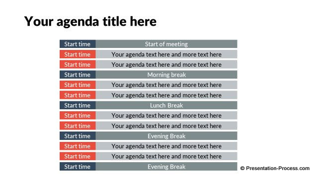 Flat Design Templates PowerPoint Opening Slides