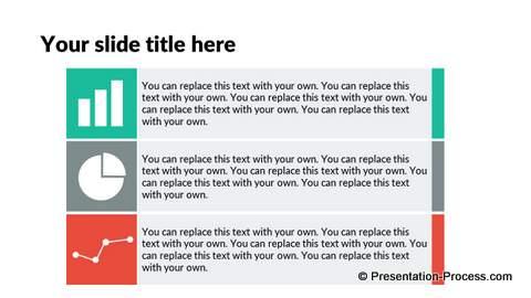 Flat Design Templates PowerPoint Bullet List