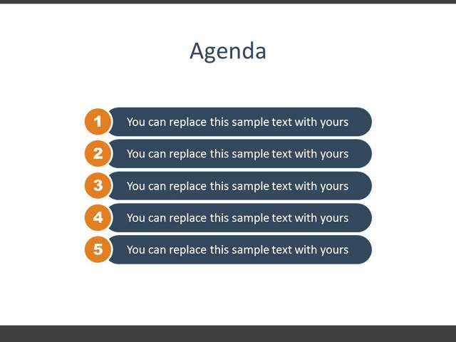 How to Design 25 Professional PowerPoint Slides e-Course - how to create a agenda