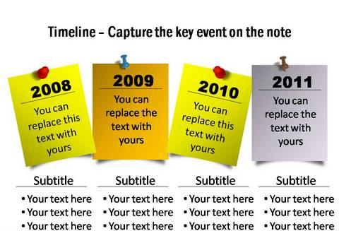 Creative SmartArt Timeline Ideas