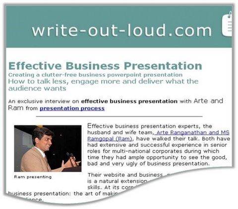 Presentation Expert Interviews  Resources - presentation experts