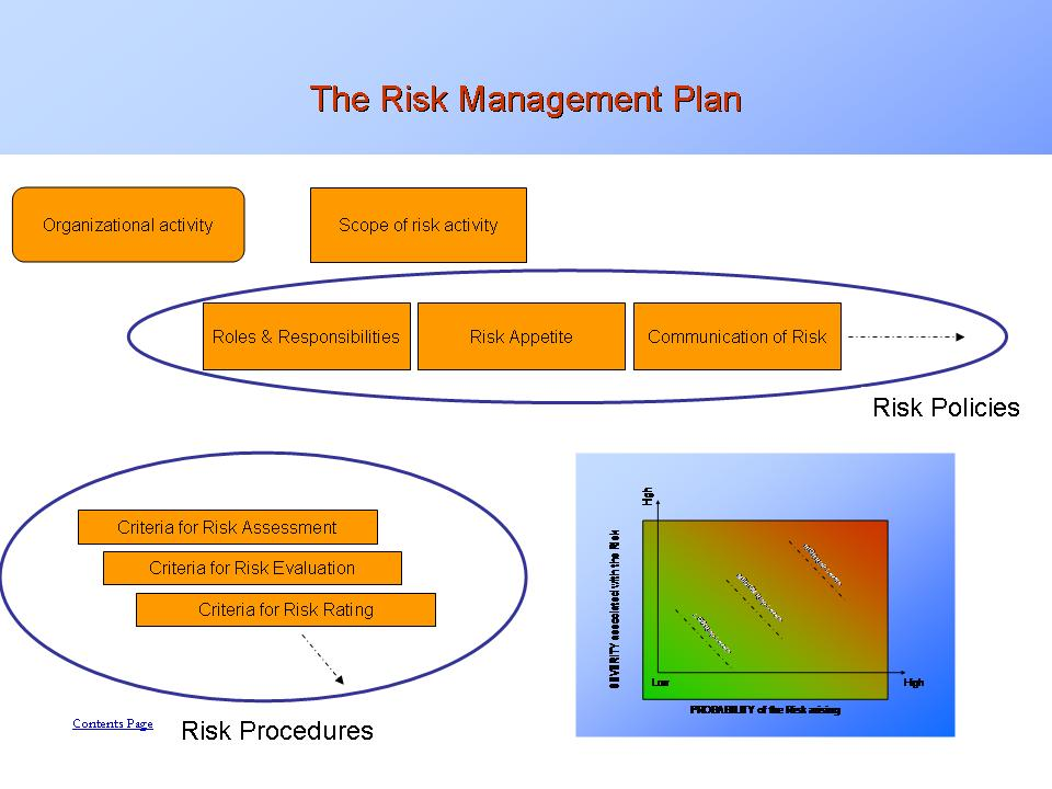 Risk Management Explained - Pages from Informational Presentation