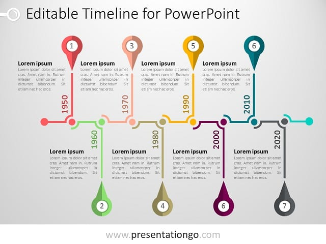 PowerPoint Timeline Template - PresentationGO