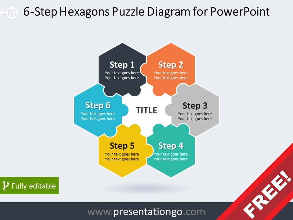 Free Puzzles PowerPoint Templates - PresentationGo - puzzle powerpoint template