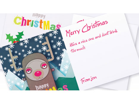 Free christmas card maker dnio tomadaretodonate free business card maker business card printing christmas reheart Choice Image