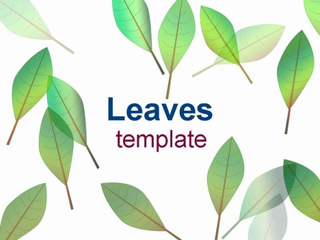 Leaves Template
