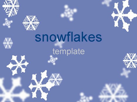 snowflake powerpoint templates - Canasbergdorfbib
