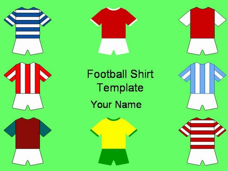 Football Shirts Template