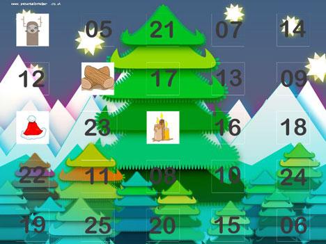 Presentation Magazine - Calendar Powerpoint Templates - powerpoint calendar template