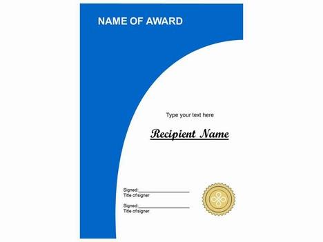 More certificate clip art - corporate certificate template